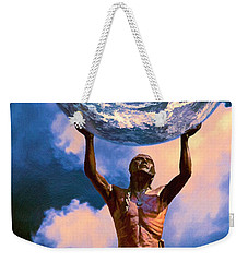 The Earth Is In Our Hands Weekender Tote Bag