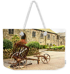 Religion The Easter Candle  Weekender Tote Bag by Linsey Williams