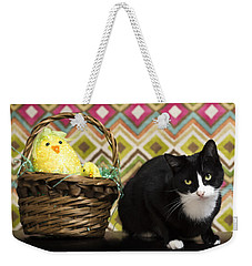 The Easter Tiggy Weekender Tote Bag