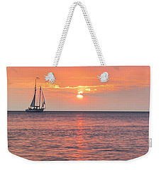 The Edith Becker Sunset Cruise Weekender Tote Bag by David T Wilkinson