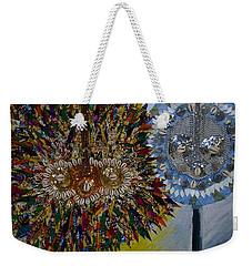 The Egungun Weekender Tote Bag by Apanaki Temitayo M