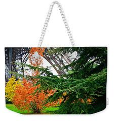 The Eiffel In Fall Weekender Tote Bag