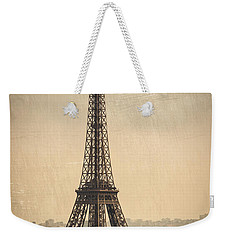 The Eiffel Tower In Paris France Weekender Tote Bag