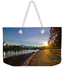 Weekender Tote Bag featuring the photograph The Emerald City by Eti Reid