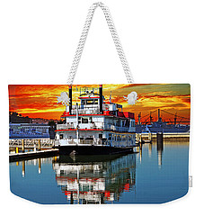 The End Of A Beautiful Day In The San Francisco Bay Weekender Tote Bag