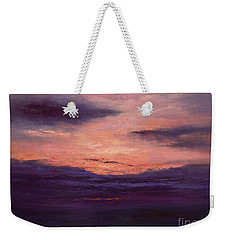 The End Of A Perfect Day Weekender Tote Bag by Valerie Travers