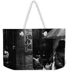 The End Of The World Weekender Tote Bag by Linda Unger