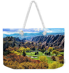The Ending Of Time Weekender Tote Bag