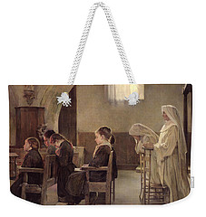 The Eve Of The First Communion Weekender Tote Bag