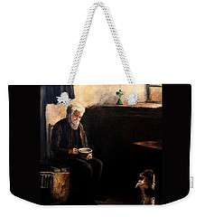 The Evening Meal Weekender Tote Bag