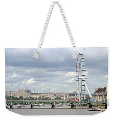 The Eye Of London Weekender Tote Bag by Keith Armstrong