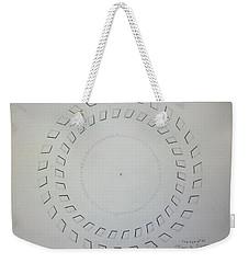 The Eye Of Pi Weekender Tote Bag