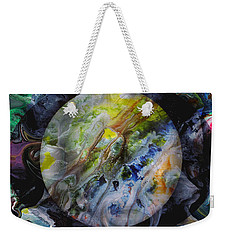 The Eye Of Silence Weekender Tote Bag by Otto Rapp