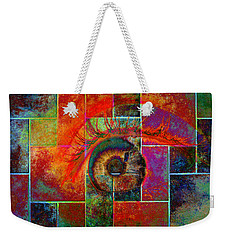 The Eye Weekender Tote Bag