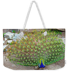 Weekender Tote Bag featuring the photograph The Eyes Have It by Jonah  Anderson