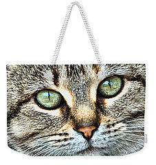 The Eyes Have It Weekender Tote Bag by Kenny Francis