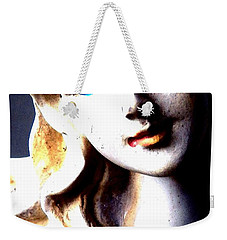 The Face Of A Woman Weekender Tote Bag