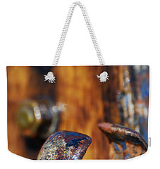 Weekender Tote Bag featuring the photograph The Fairlead by Wendy Wilton