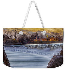 The Falls Of White River Weekender Tote Bag