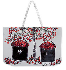 The Famous Door County Cherry Tree Weekender Tote Bag by AndyJack Andropolis