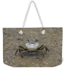 The Fiddler Crab On Hilton Head Island Weekender Tote Bag by Kim Pate