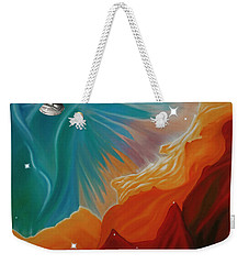 The Final Frontier Weekender Tote Bag by Barbara McMahon