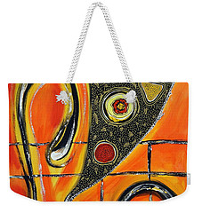 The Fires Of Charged Emotions Weekender Tote Bag by Jolanta Anna Karolska