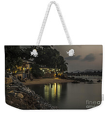 The First Evening Light Reflections Weekender Tote Bag