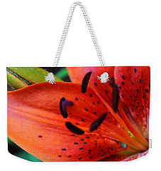 The First Lily Weekender Tote Bag
