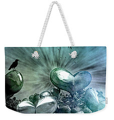 Lost Hearts Weekender Tote Bag by Gabiw Art