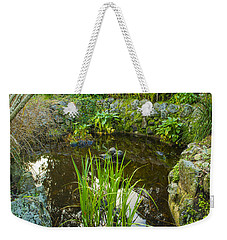 Weekender Tote Bag featuring the photograph The Fish Pond  by Naomi Burgess