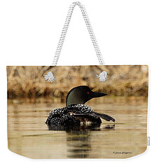 The Fish Went That Way Weekender Tote Bag by Steven Clipperton