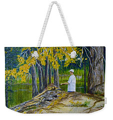 The Fisherman Weekender Tote Bag