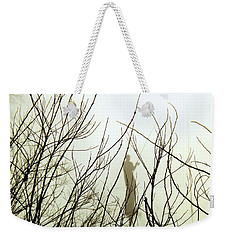 Weekender Tote Bag featuring the photograph The Fisherman by Robyn King