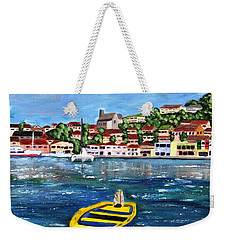 The Fishing Boat  Weekender Tote Bag