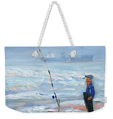 The Fishing Man Weekender Tote Bag