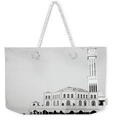 The Floating Mosque Weekender Tote Bag