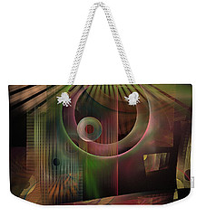 The Flower And Willow World Weekender Tote Bag by NirvanaBlues