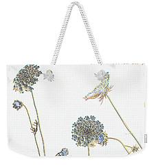 The Flowers Danced Weekender Tote Bag