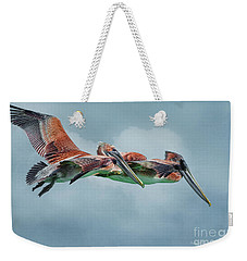 The Flying Pair Weekender Tote Bag