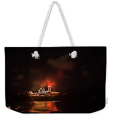 The Fog Rolls In Weekender Tote Bag by Jeff Folger