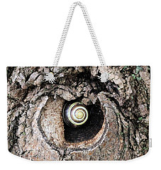 The Forest Is Watching Weekender Tote Bag