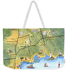 The Forgotten Coast St. Marks Weekender Tote Bag