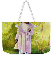 The Forsythia Weekender Tote Bag by Marlene Book
