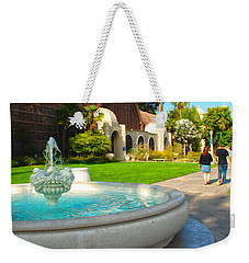 Botanical Building And Fountain At Balboa Park Weekender Tote Bag