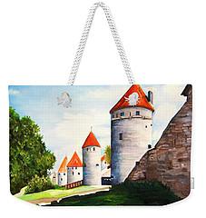 The Four Old Towers Estonia Weekender Tote Bag