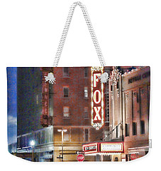 The Fox After The Show Weekender Tote Bag