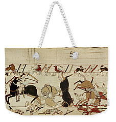 The Bayeux Tapestry Weekender Tote Bag by French School
