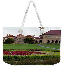 The Front Of Stanford University Weekender Tote Bag