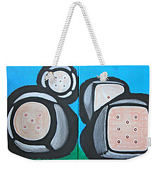 The Game Of Life Weekender Tote Bag by Lorna Maza